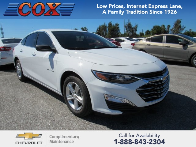 New 2019 Chevrolet Malibu Ls 4d Sedan Near Sarasota 9d104717 Cox