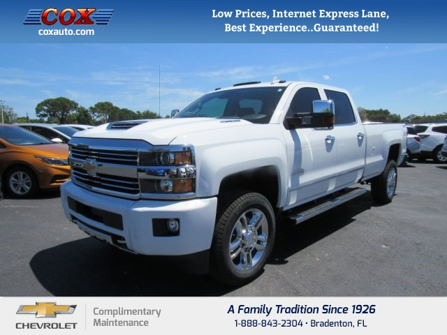 new 2017 chevrolet silverado 2500hd high country 4d crew cab near sarasota 7t176231 cox chevrolet. Black Bedroom Furniture Sets. Home Design Ideas