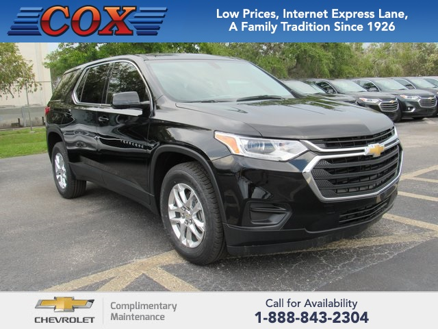 Cox Chevrolet Chevrolet Dealer In Bradenton Fl Serving Sarasota U003eu003e New 2019  Chevrolet Traverse Ls