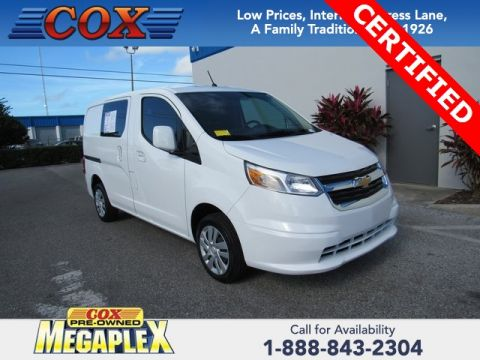 Certified Pre-Owned 2017 Chevrolet City Express 1LT